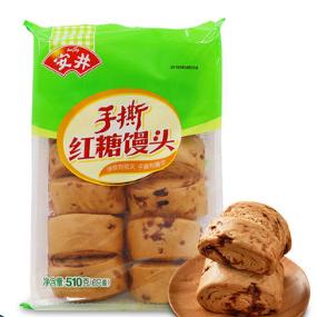安井红糖馒头 400g/10只/包